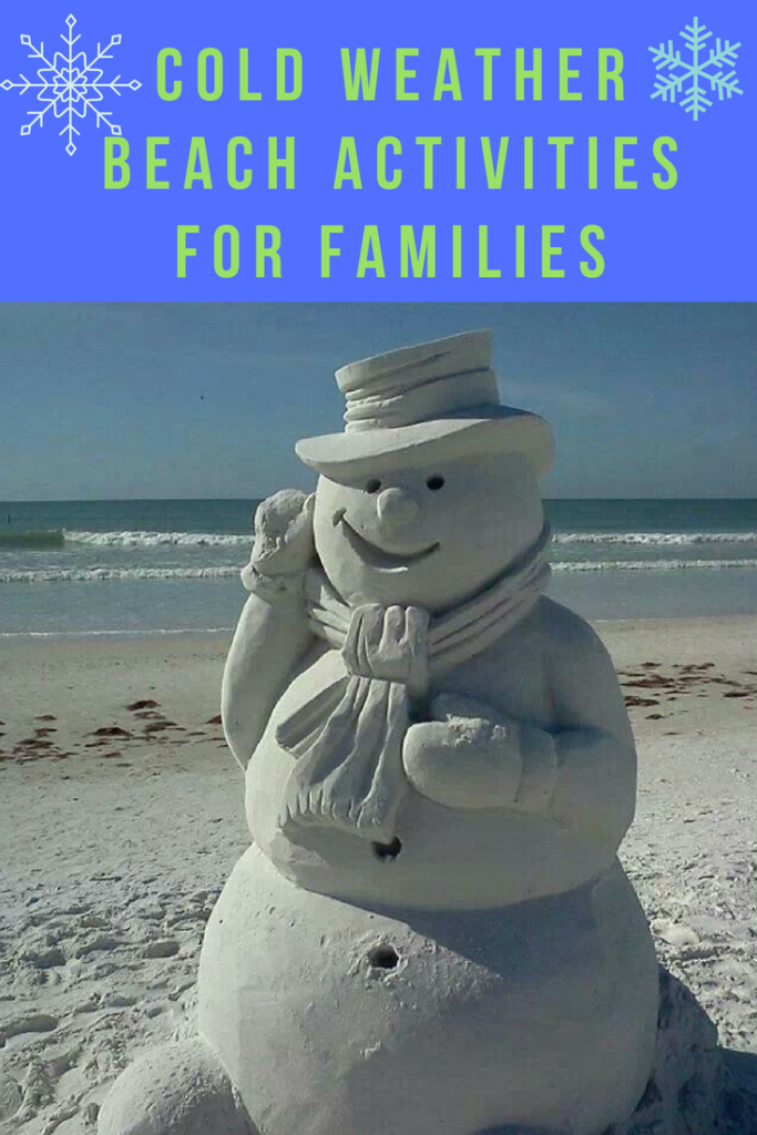 cold weather beach activities for families