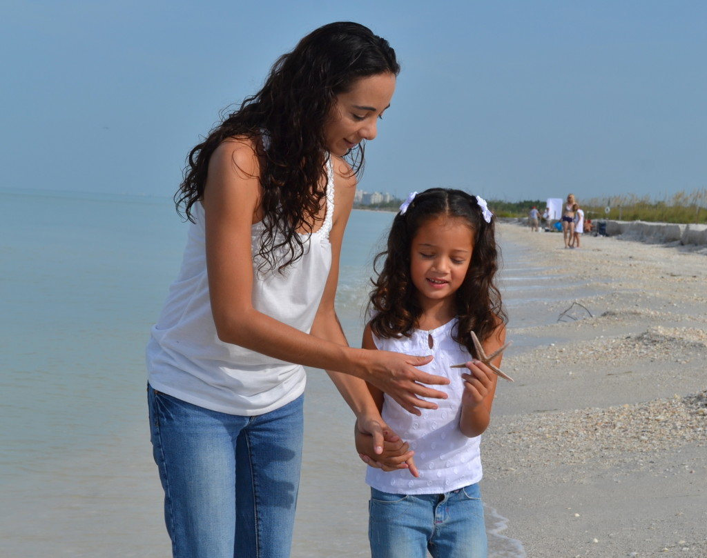 A great find while shelling on the beach at Lover's Key. Photo: Dee Rico Photography. All rights reserved.