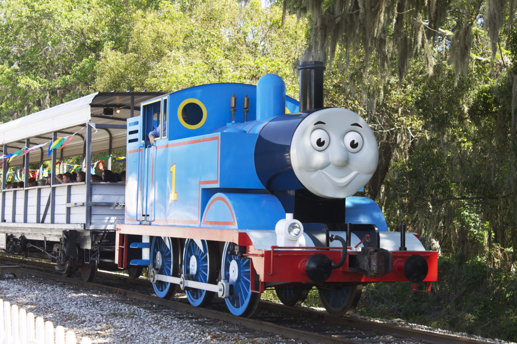 Thomas at the Florida Railroad Museum. Photo: Paula Bendfeldt-Diaz. All rights reserved.
