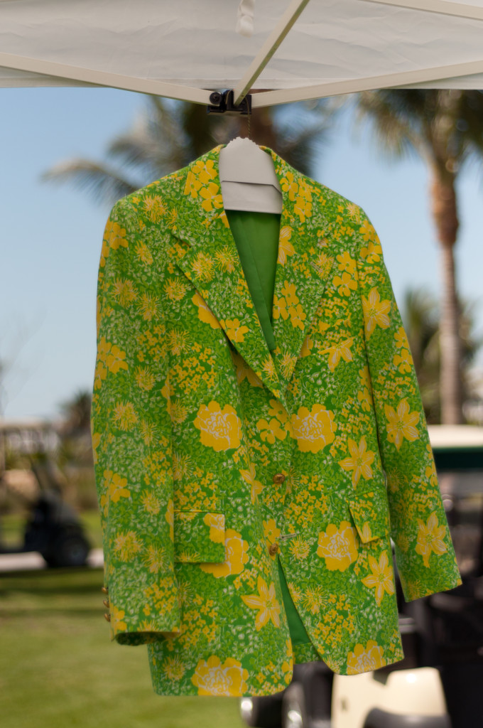 Captiva's Coveted Green Jacket will be