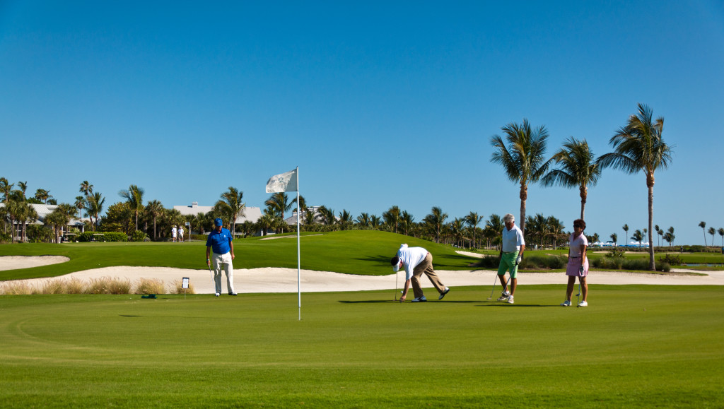 Gulf course at South Seas Island Resort in Captiva.