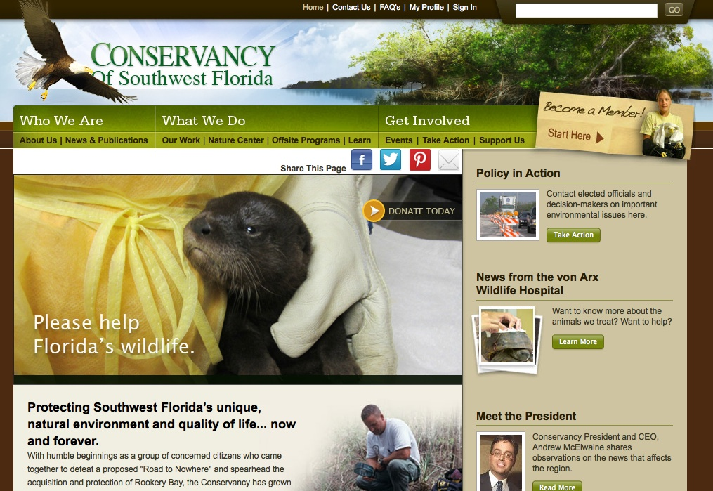 The Conservancy of Southwest Florida, much more than a Nature Center.