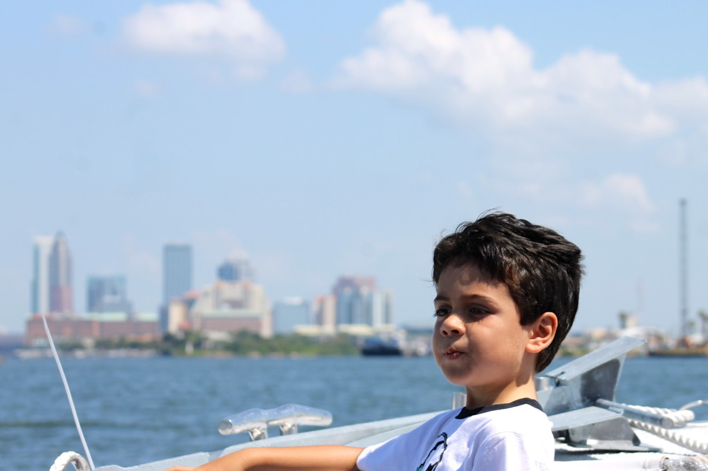 Cruising aroung Tampa on the Never Never Land. Photo: Paula Bendfeldt-Diaz. All Rights Reserved.