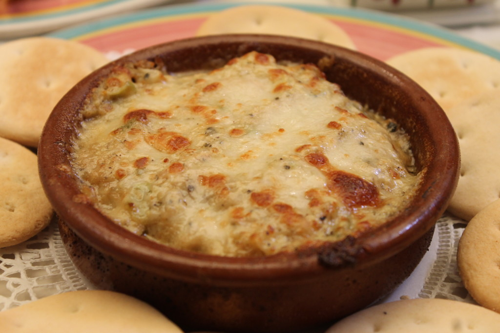 Artichoke dip. Photo: Paula Bendfeldt-Diaz. All Rights Reserved.