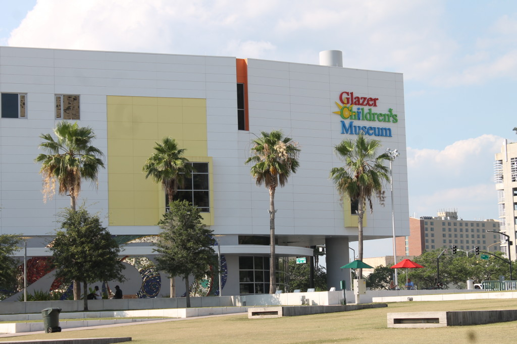 Glazer Children's Museum just a short walk away from the Sheraton Tampa Riverwalk.