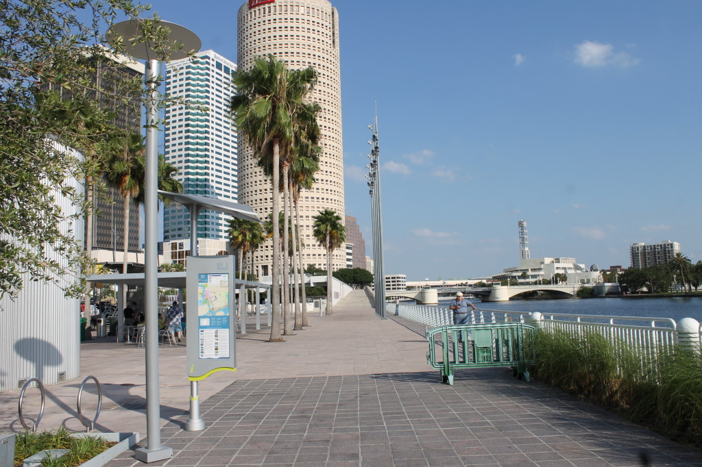 Riverwalk along the Hillsborough River is only a short walk away from the hotel.