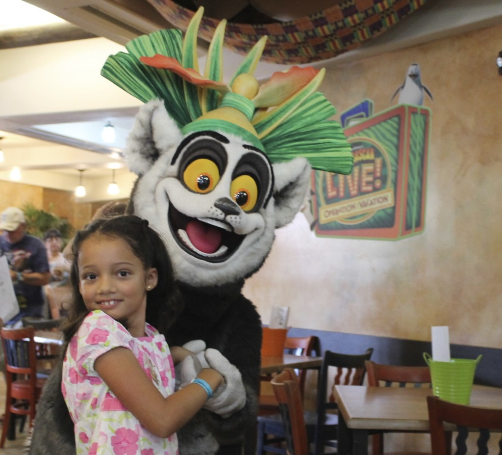 King Julian's Royal Treatment experience at Busch Gardens. Photo: Paula Bendfeldt-Diaz. All Rights Reserved.
