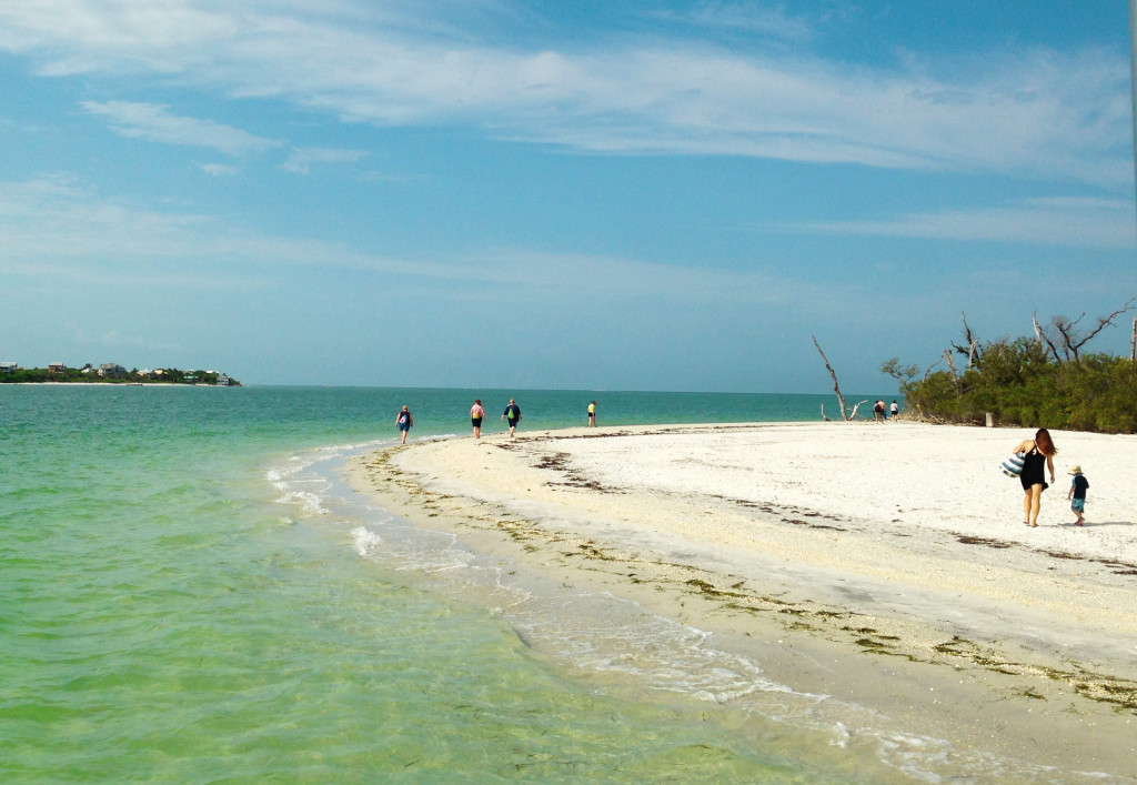 Cayo Costa, a short  boat ride away from South Seas Island Resort is an island that can only be reached by boat.