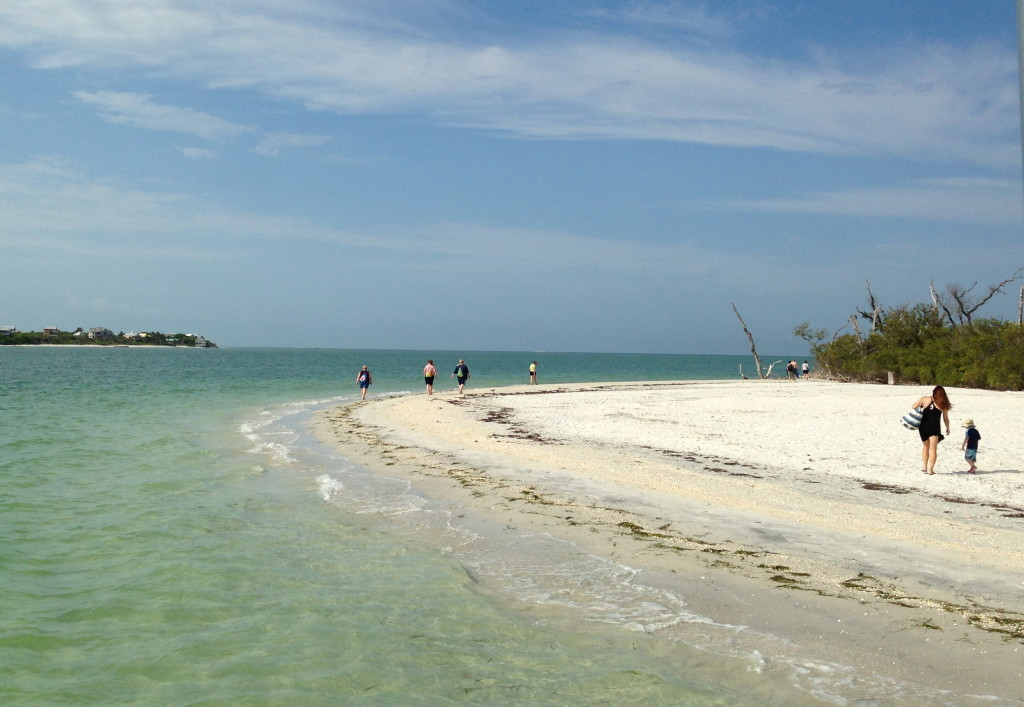 Cayo Costa at Redfish Pass with North Captiva on the background. Photo: Paula Bendfeldt-Diaz. All Rights Reserved.