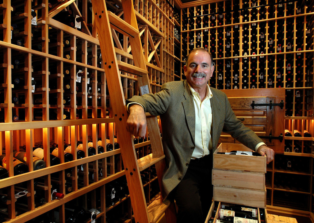 Richard Gonzmart in Wine Cellar Columbia Restaurant Ybor City. Photo courtesy of Columbia Restaurant.