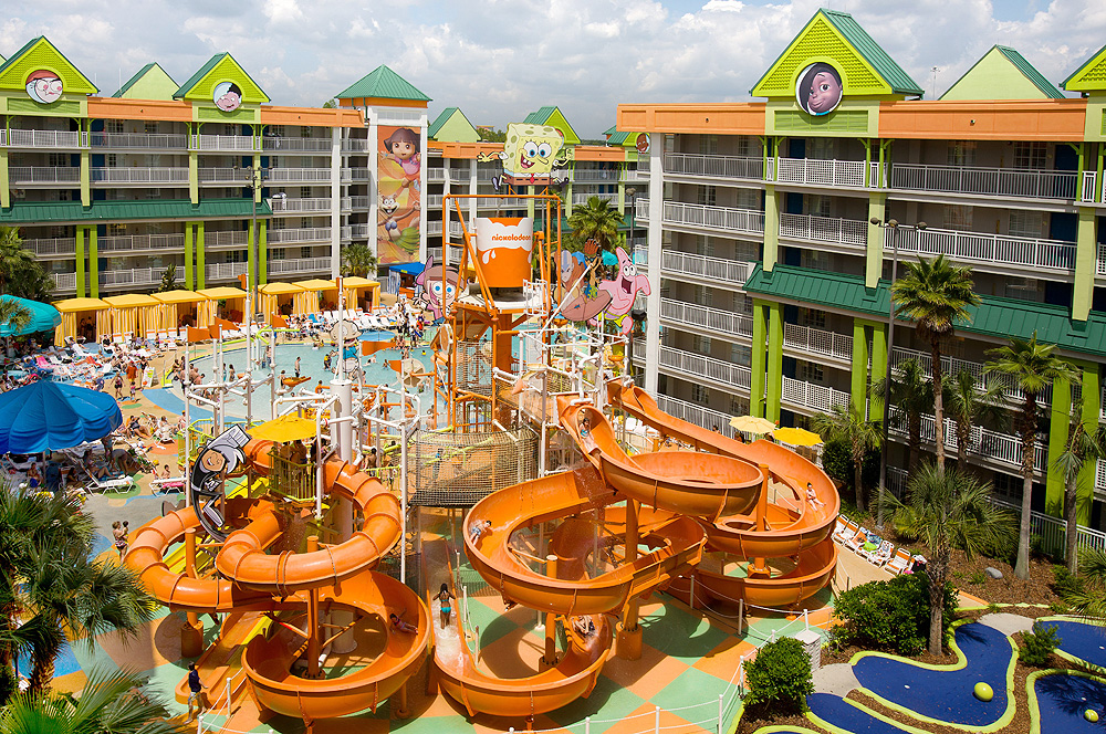 nickelodeon resort slide