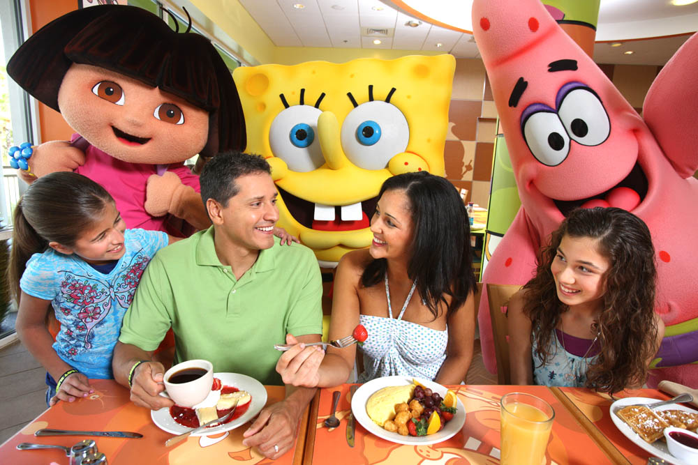 Nickelodeon suites resort celebrates 8th birthday with new for Character hotel