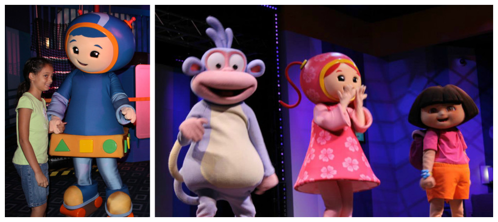Dora's Friendship Fiesta is a fun show for all Nick character fans. Photo: Paula Bendfeldt-Diaz, all rights reserved.