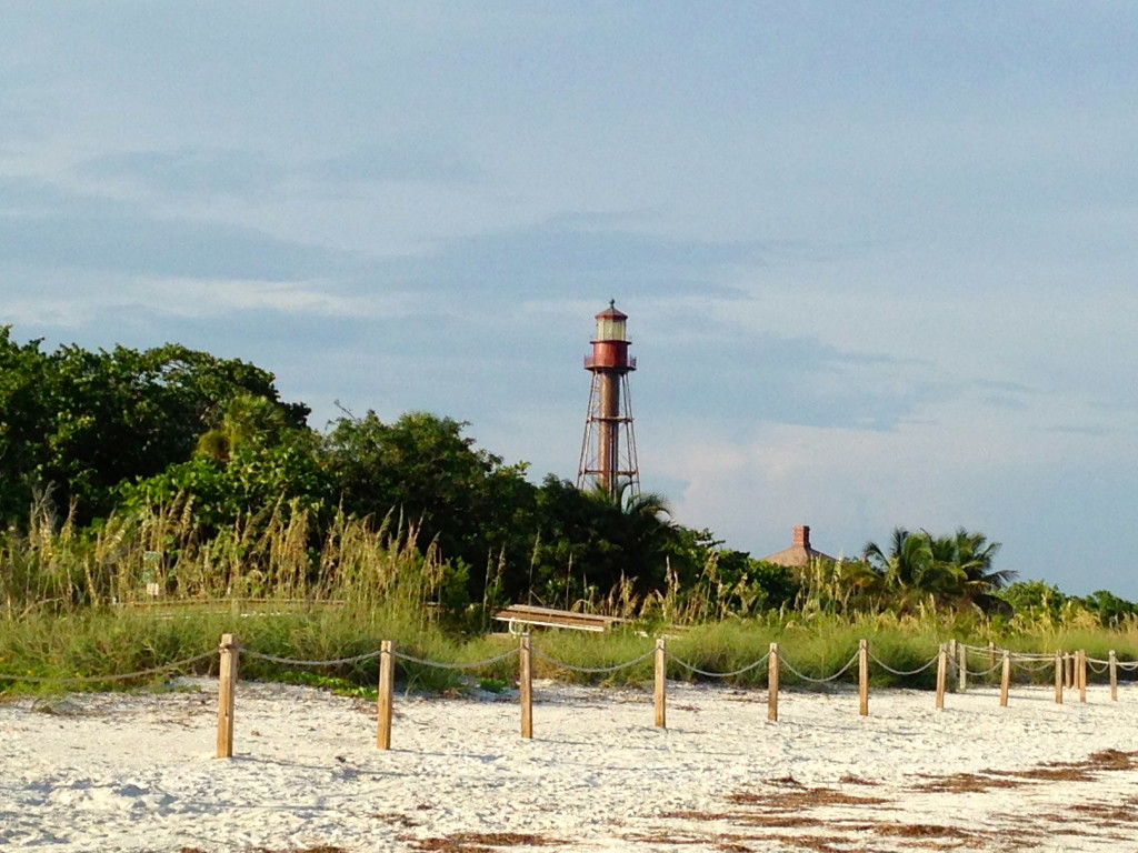 Sanibel lighthouse beach