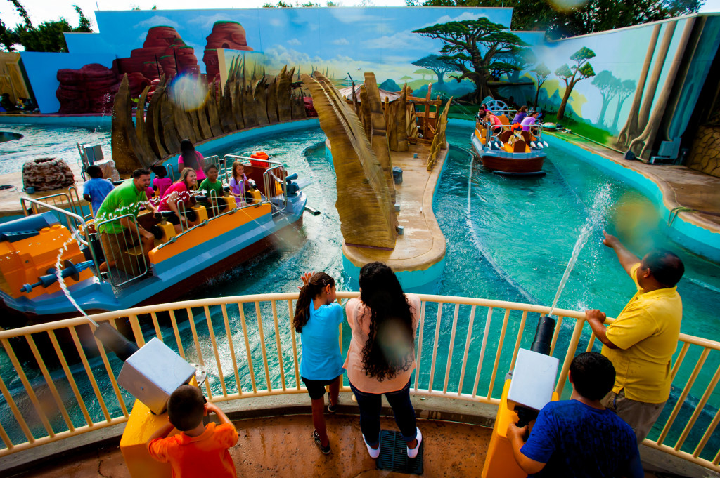 World of Chima water ride. Photo: Courtesy of Legoland Florida.