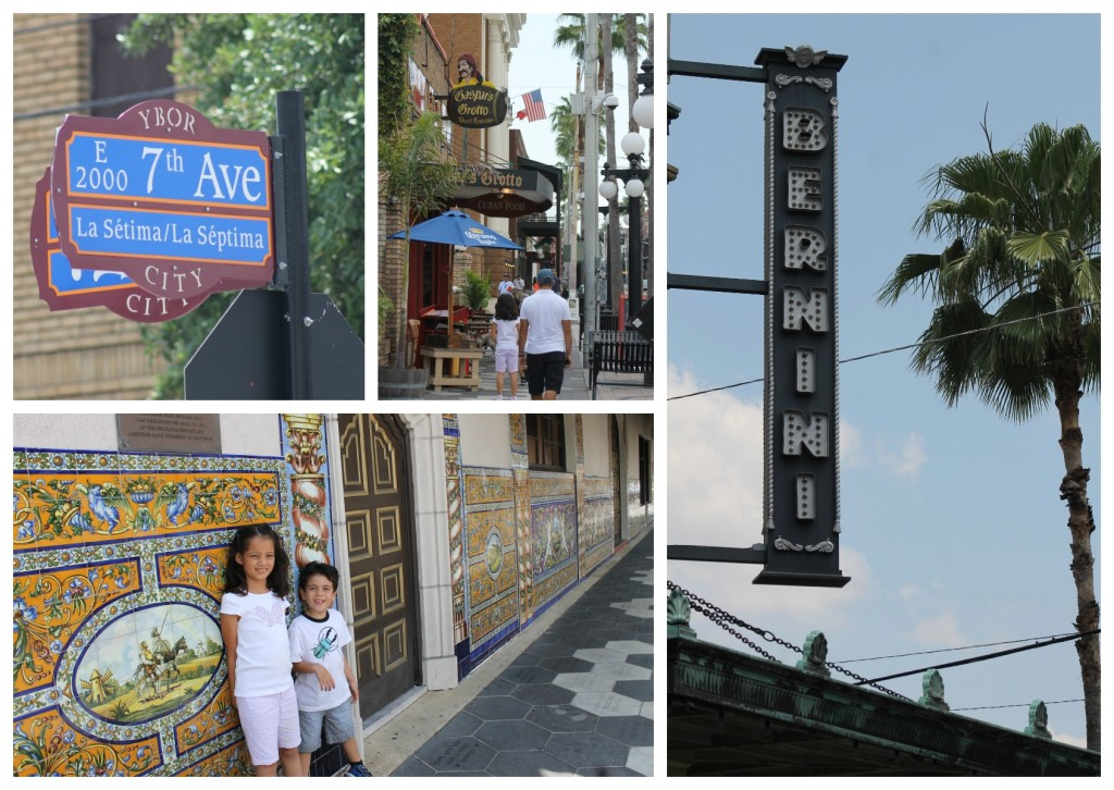 Ybor City's eclectic architecture and warm character.