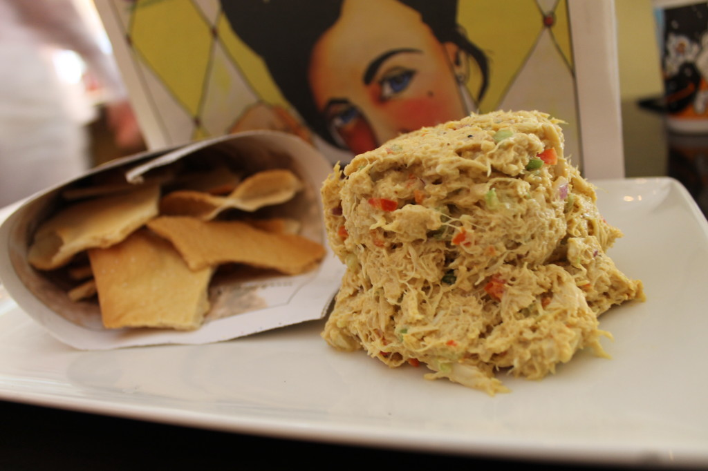 crab curry spread from Datz
