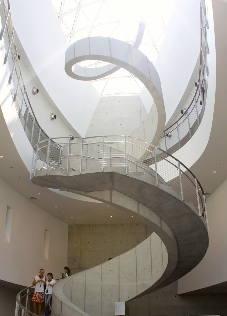Dali museum staircase