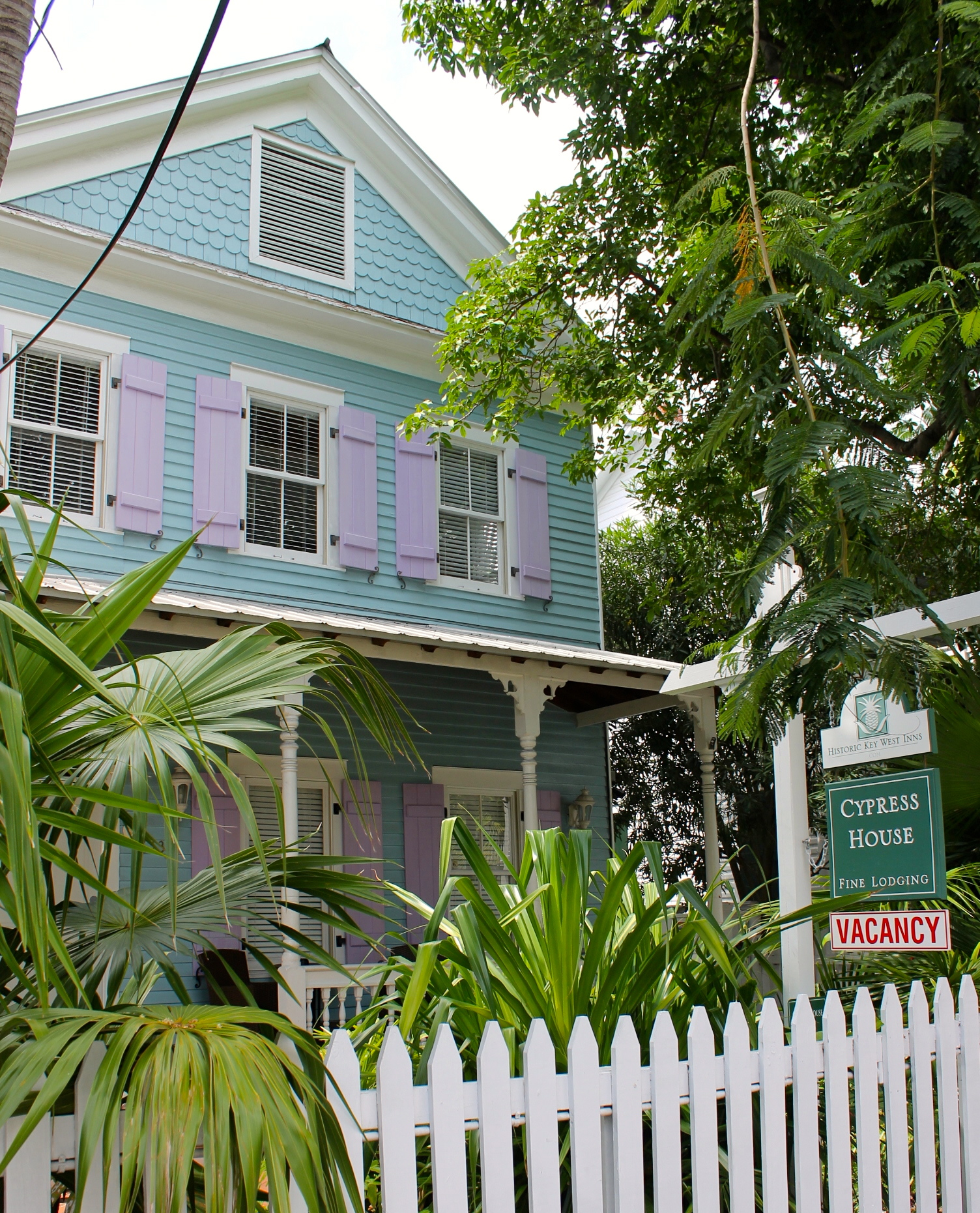 History meets laid back luxury in key west at the the for Cypress house