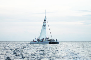 fury key west commotion of the ocean sailboat