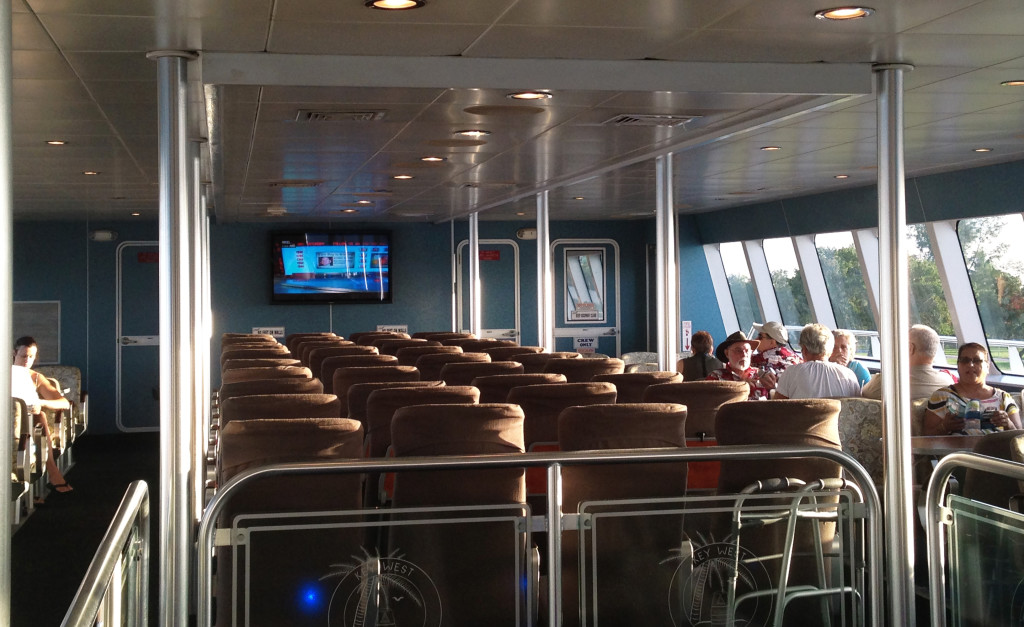 traveling in comfort on Key West express ferry