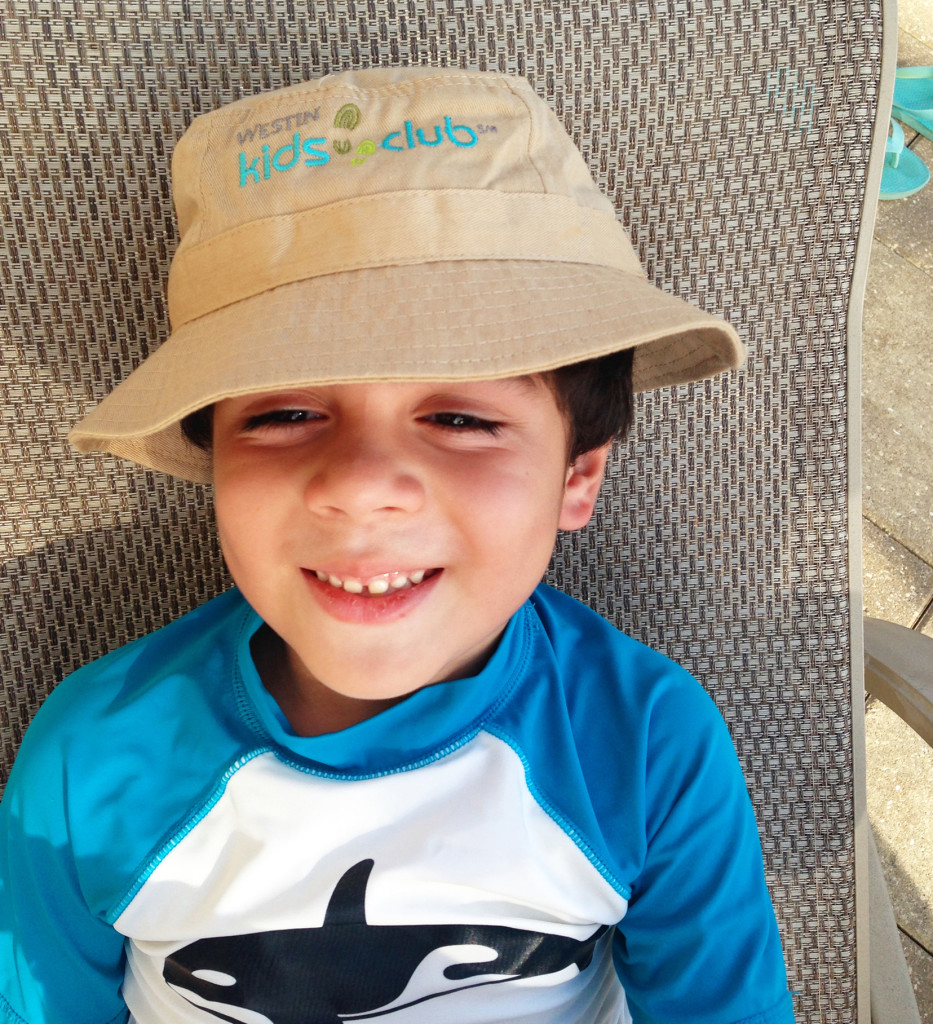Westin Cape Coral Kids Club hat