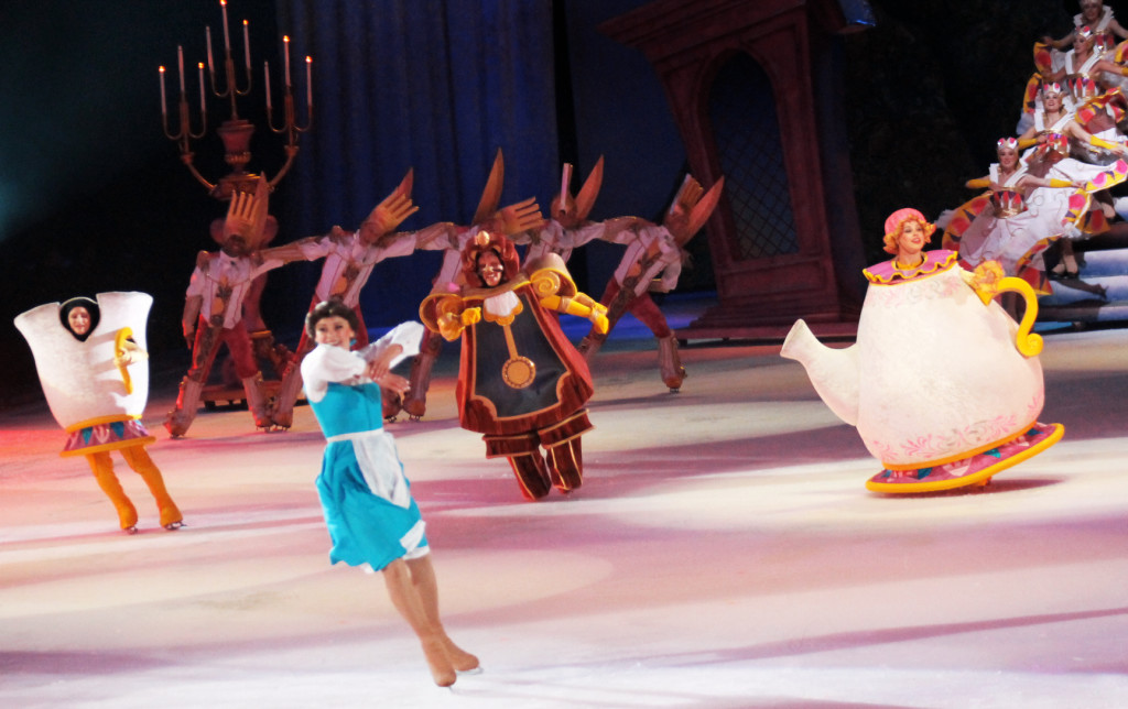 Belle at Disney on Ice Rockin Ever After show