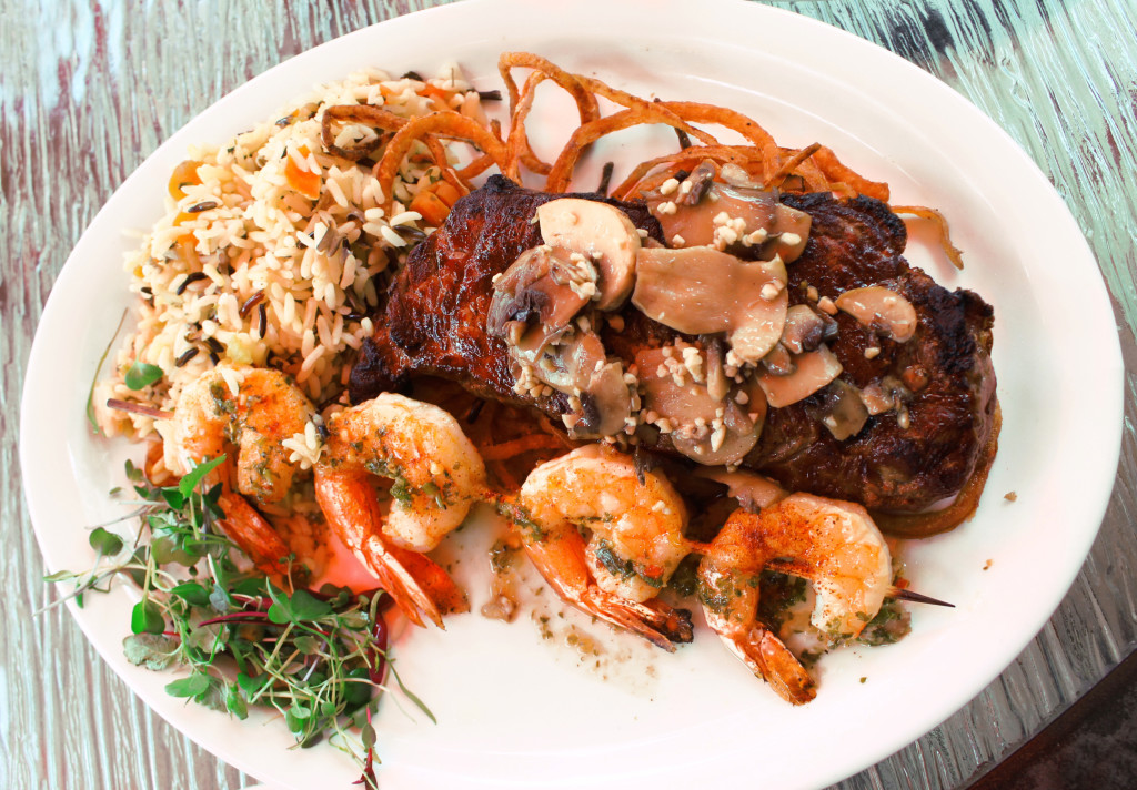 surf and turf Matanzas waterfront restaurant Fort Myers Beach