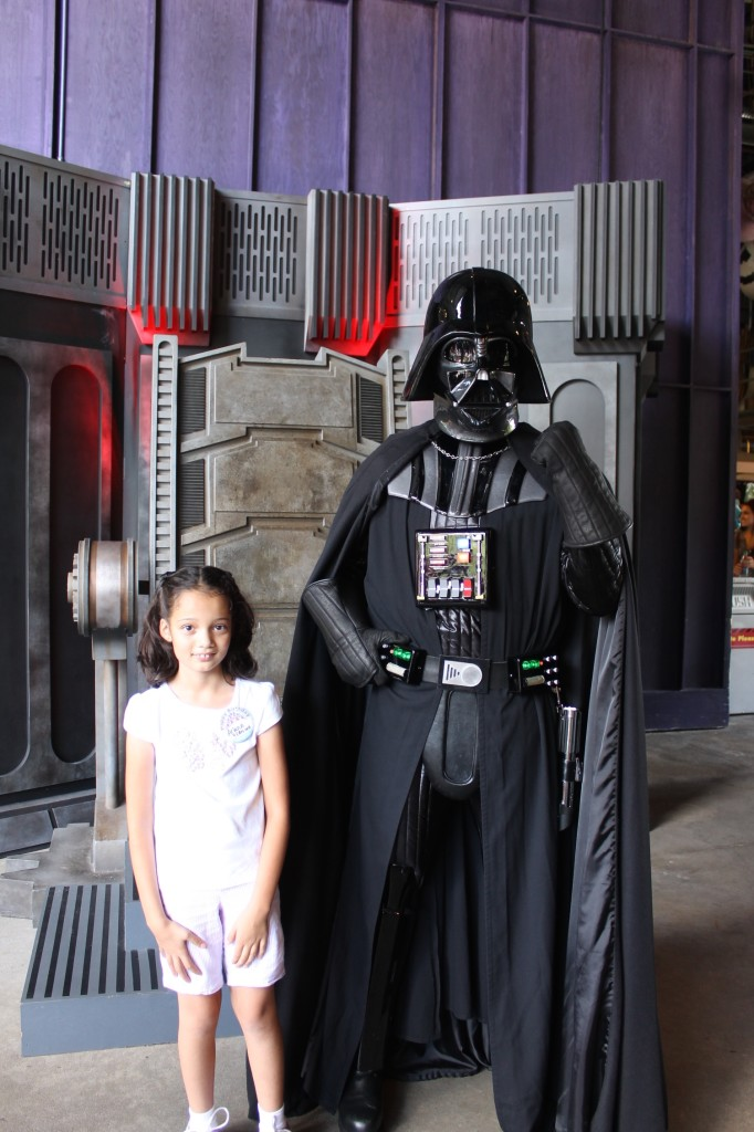 Star Wars Weekends Darth Vader meet and greet