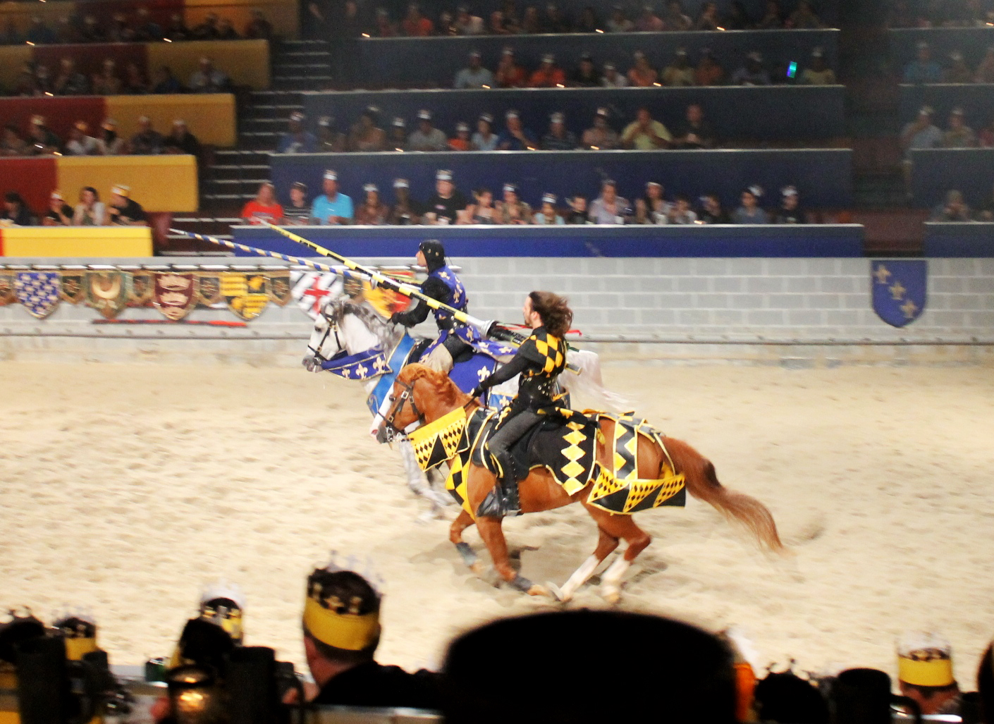 Knights Princesses And Excitement At Medieval Times