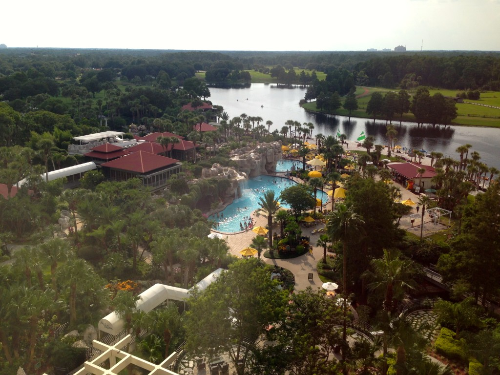 Hyatt Regency Grand Cypress  view from room