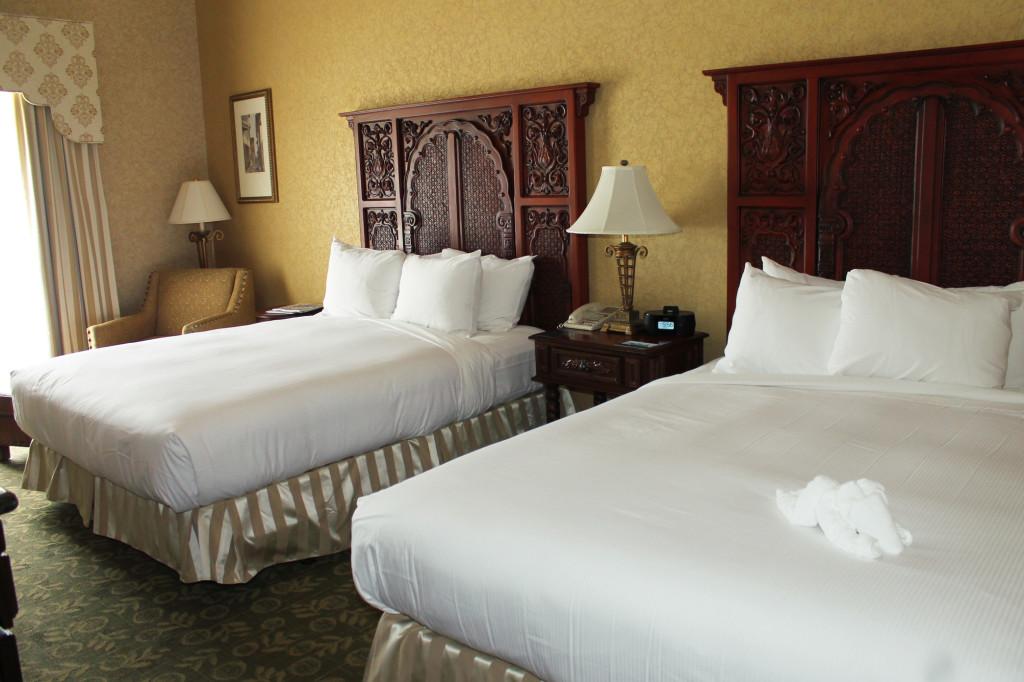 Hilton St Augustine Historic Bayfront room