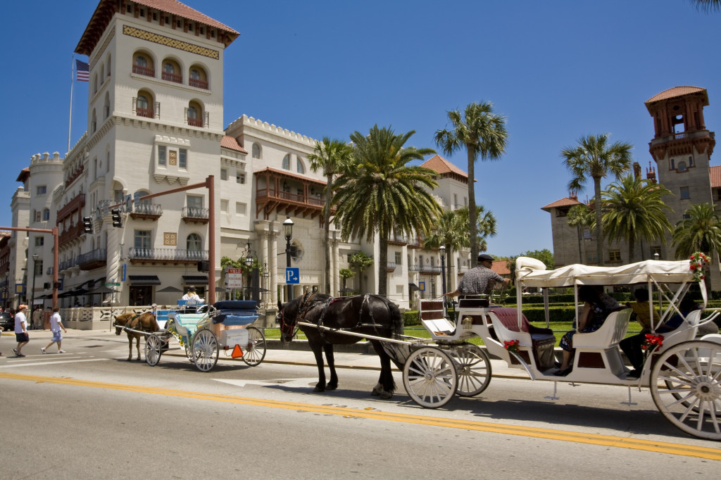 Carriage tours are one of the many enjoyable ways to learn about the Nation's oldest city's vibrant history