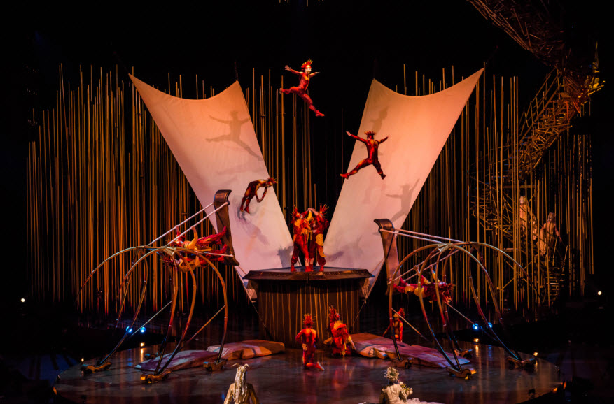 Cirque du Soleil Varekai at Germain Arena in Estero