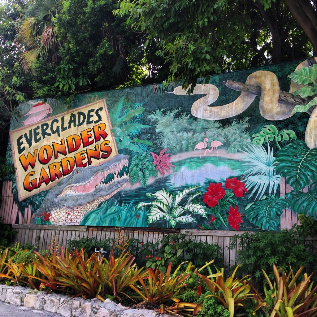 Everglades Wonder Gardens Bonita Springs roadside attraction