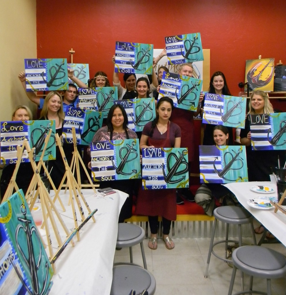 Fun Art At Painting With A Twist In Fort Myers 365 Things To Do Southwest Florida
