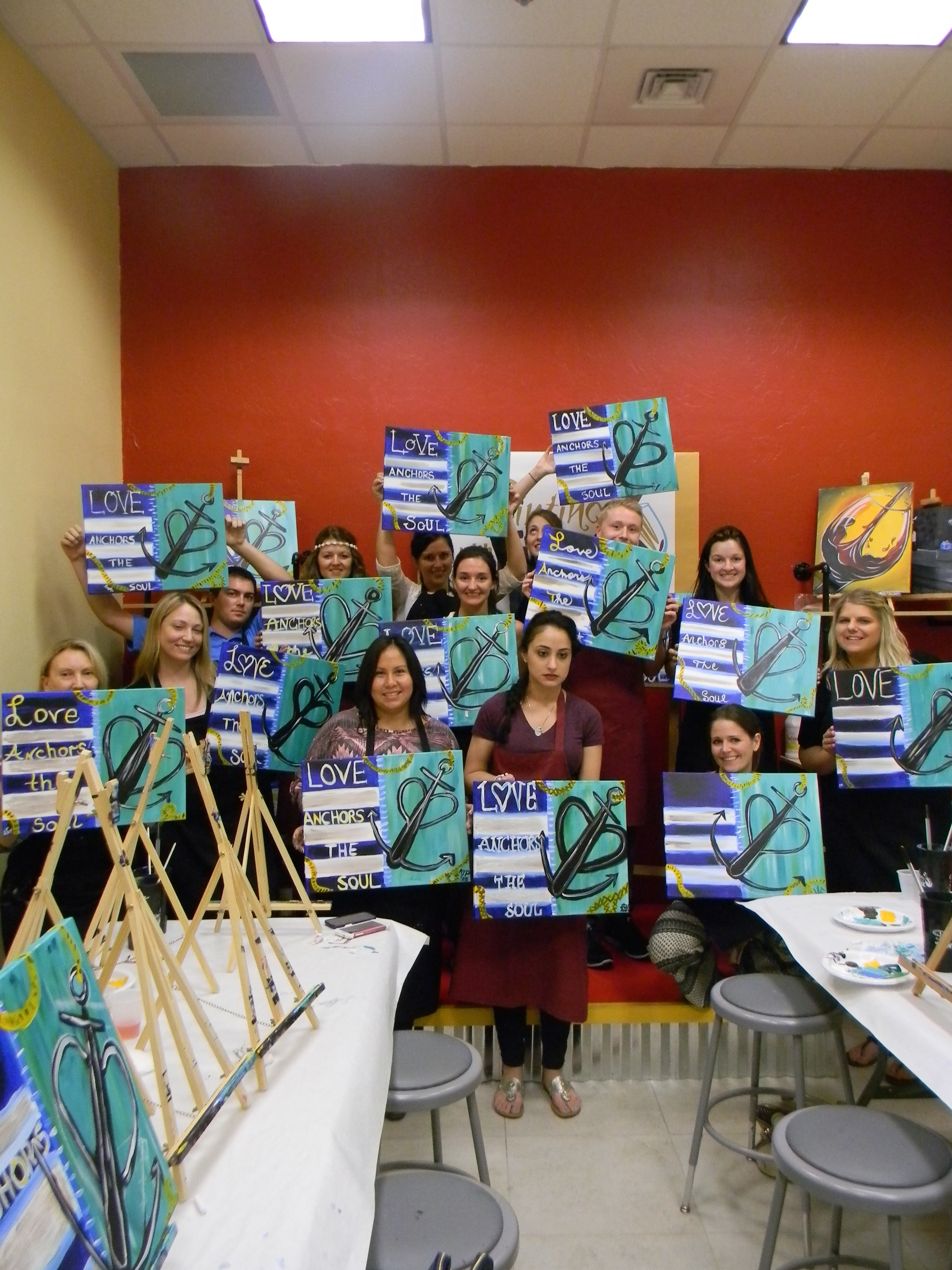 Fun Art At Painting With A Twist In Fort Myers 365