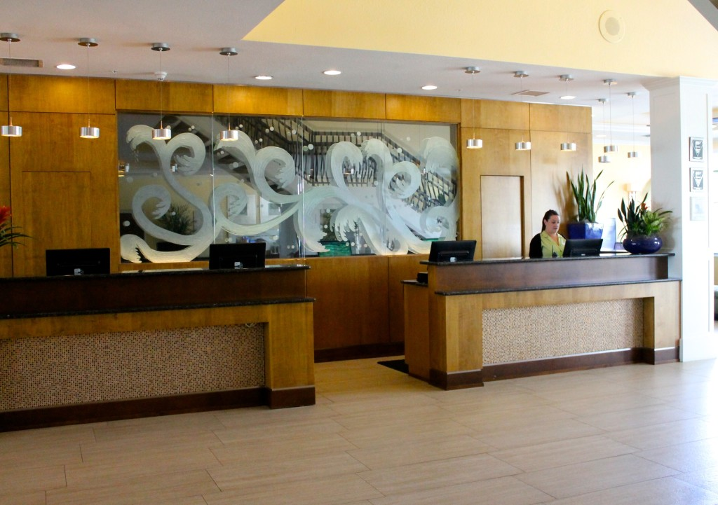 lobby of Sundial Resort
