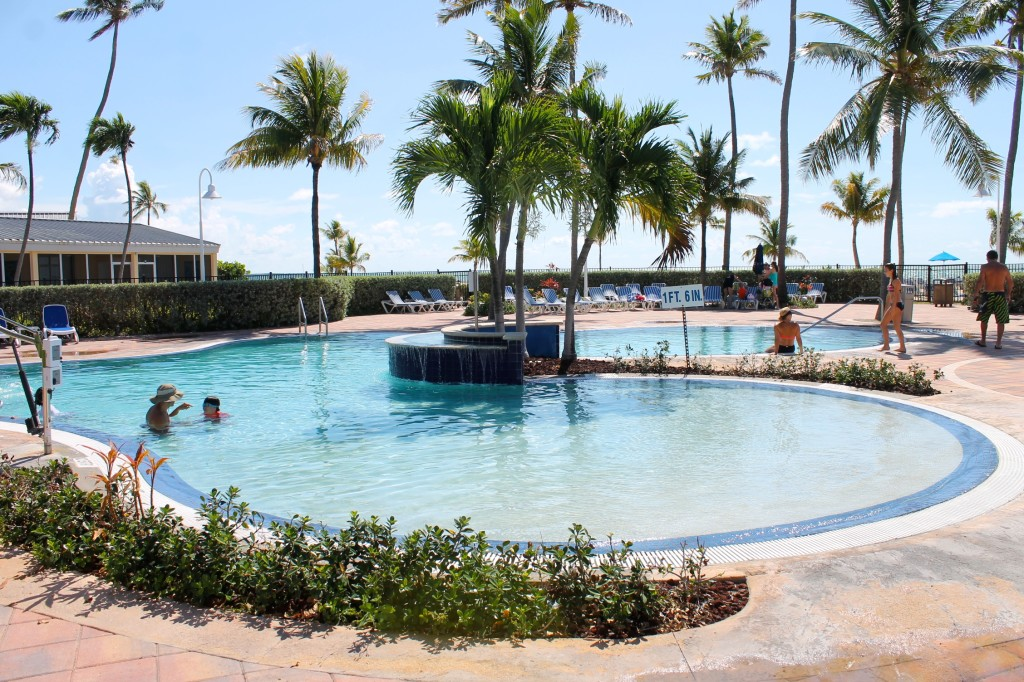 Pool at the Islander Resort in Islamorada