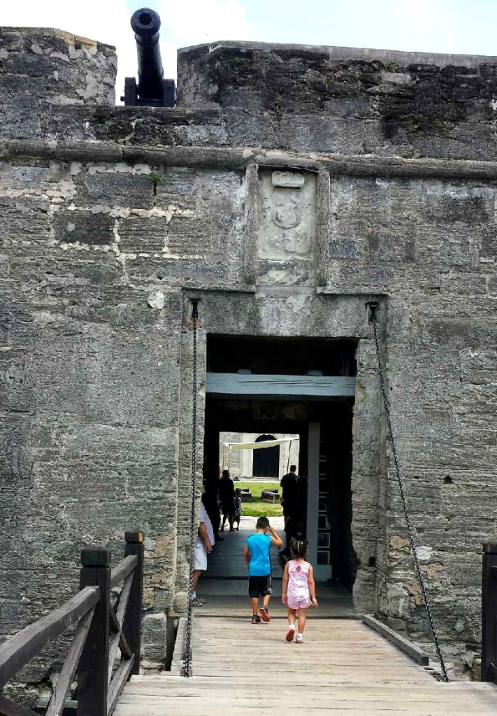 Entrance to Castillo San Marcos