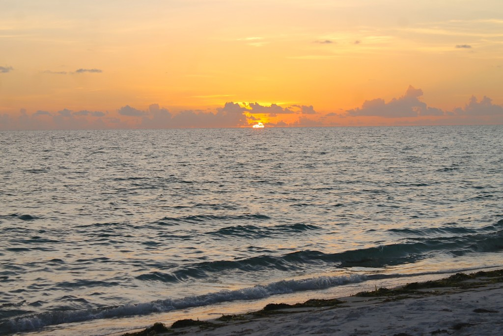 sunset in Anna Maria Island