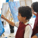 Painting with a twist summer camp