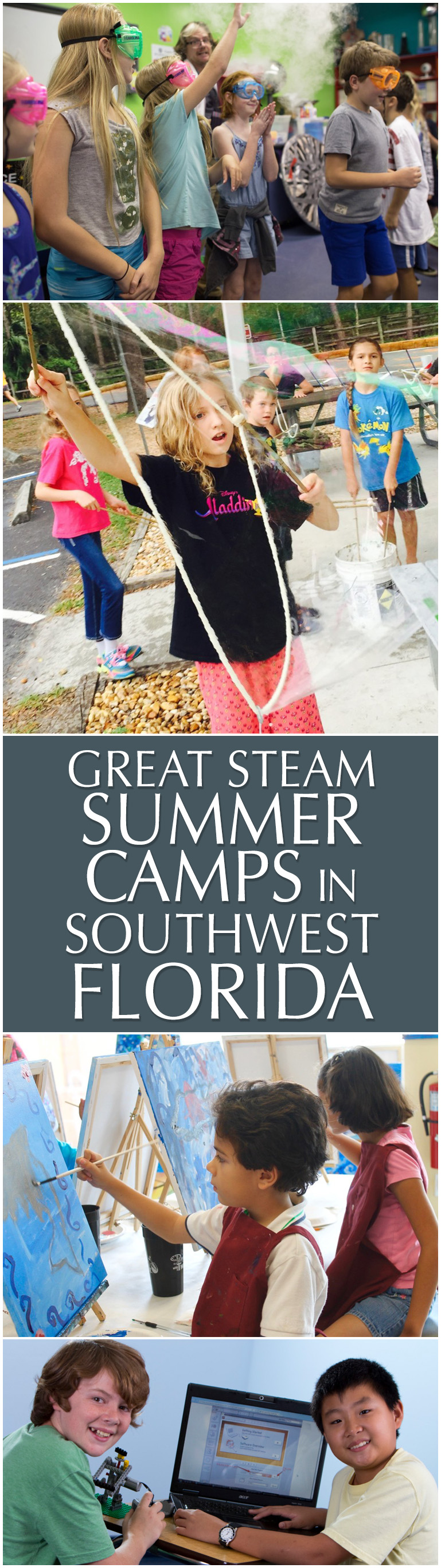 Great STEAM summer camps in Southwest Florida