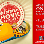 $1 Summer Movies at select Regal Theaters in Southwest Florida