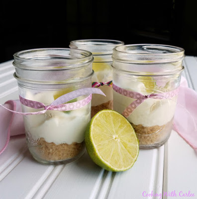 Key Lime Cheesecake Jars