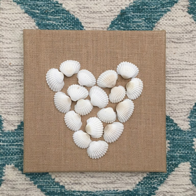 Shell crafts to do with kids