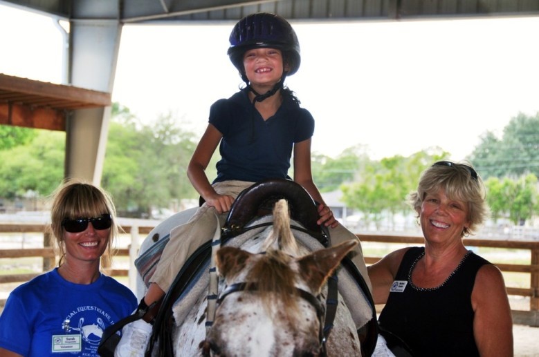 Therapeutic horseback riding