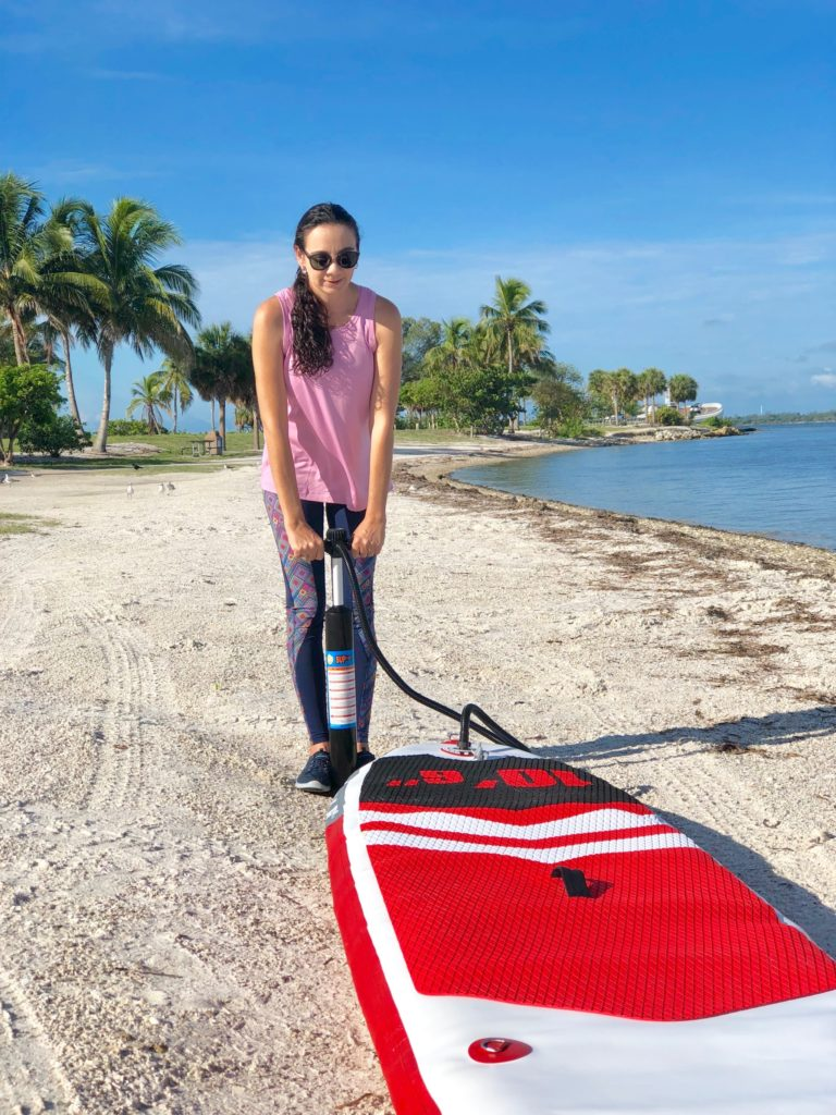 How to choose the right inflatable paddle board